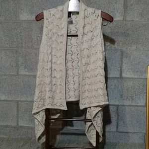 New! Bohemian Loose Knit Long Flowing Shrug